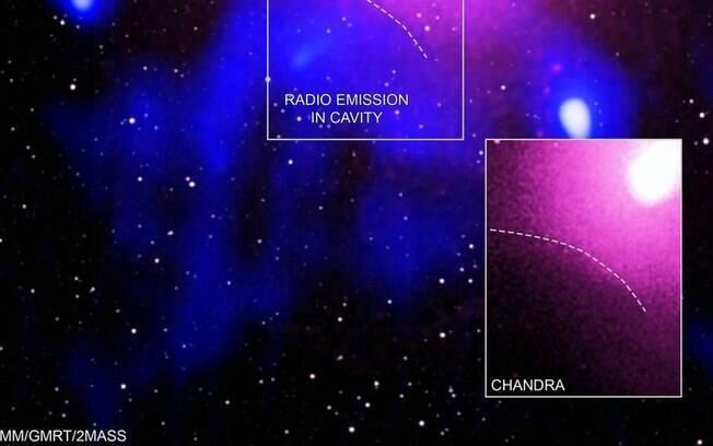 Nasa anunciou a maior explosão da história do Universo