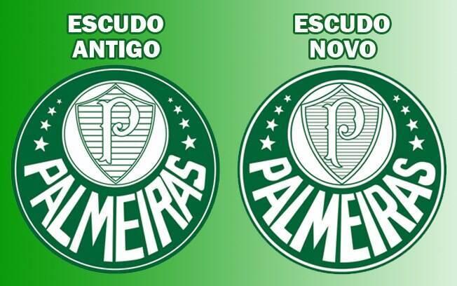 Palmeiras faz adequações no escudo por nova identidade visual ... 0634c374f6d88