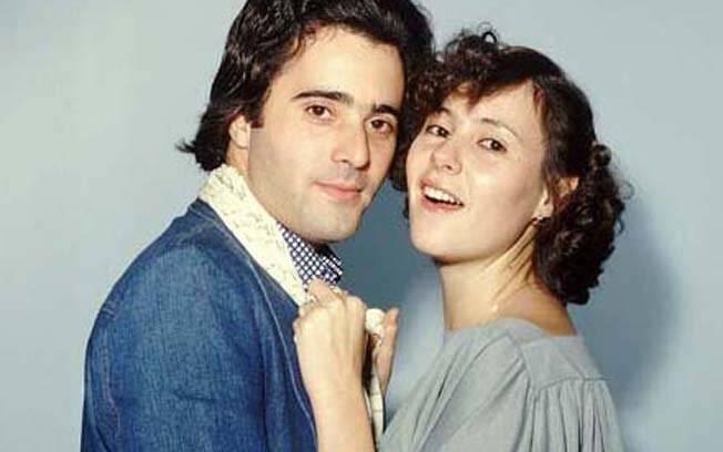 Com 38 anos de carreira, Elizabeth Savalla já fez vários pares românticos, como esse com Tony Ramos: Márcio e Lili de 'O Astro'