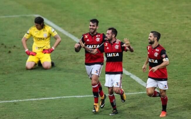 O crescimento do faturamento possibilitou que o Flamengo contratasse grandes jogadores como Diego e Everton Ribeiro