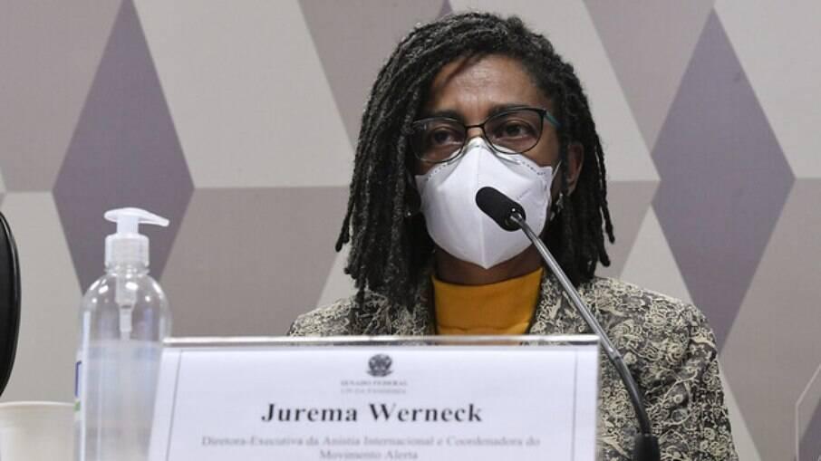 Jurema Werneck na CPI da Covid