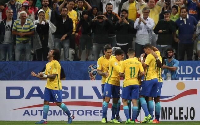 Brasil vence o Paraguai por 3×0 e garante sua vaga na Copa do Mundo de 2018