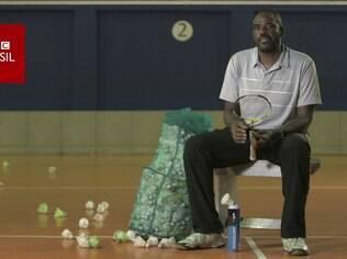 Sebastião Oliveira levou o badminton aos mais carentes