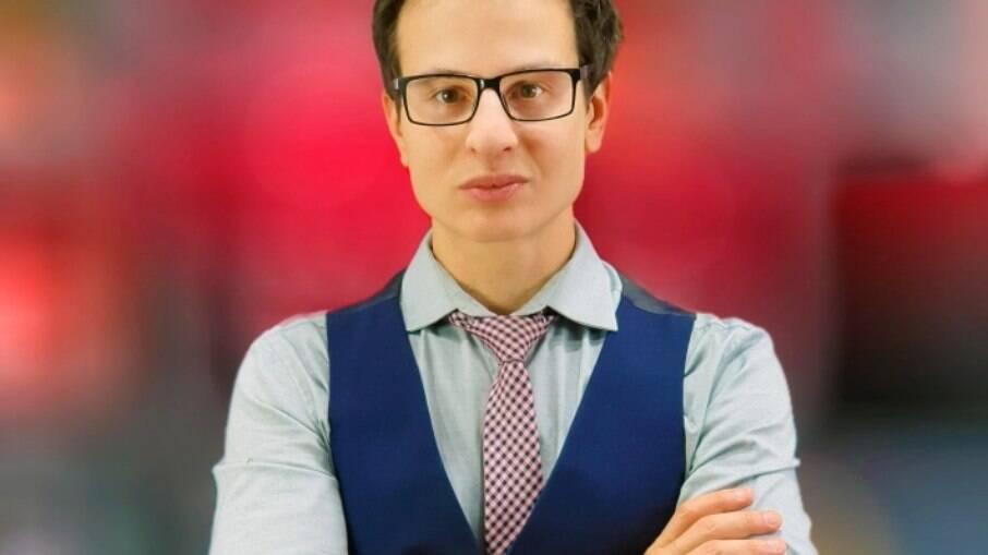 O youtuber e financista Fabrizio Gueratto