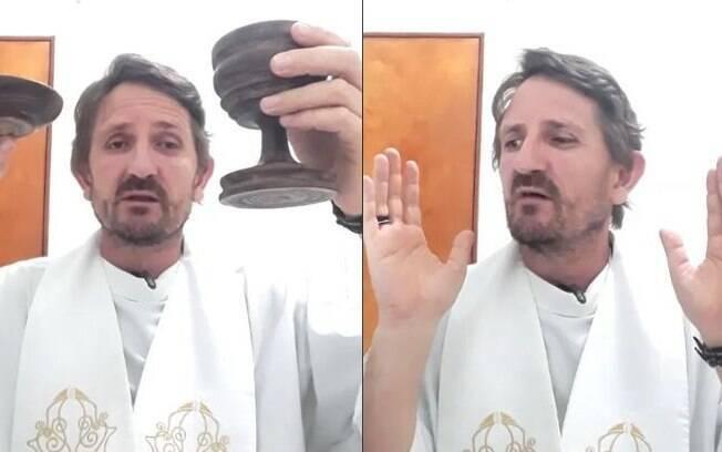 Luís Miguel Godino realiza missas online