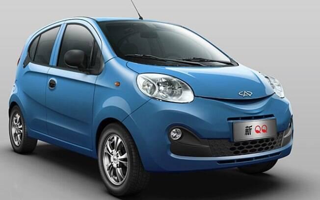 Chery QQ é o carro mais barato do Brasil. Feito em Jacareí (SP), parte de R$ 24.990