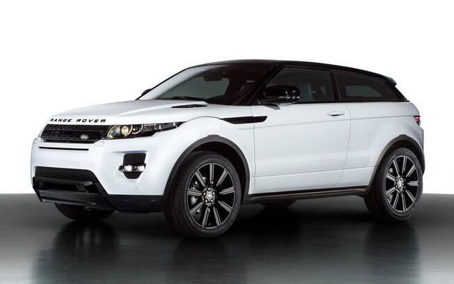Range Rover Evoque: a versão cupê, tal como a da foto acima, representa um apelo que não vingou para este segmento