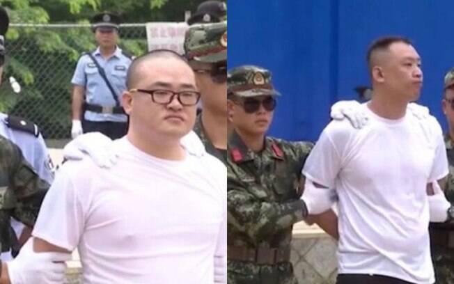 Huang Zhenye e Cai Liqun foram condenados à pena de morte e fuzilados em evento contra tráfico de drogas no sul chinês