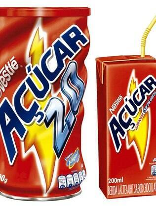 Achocolato = Açúcar