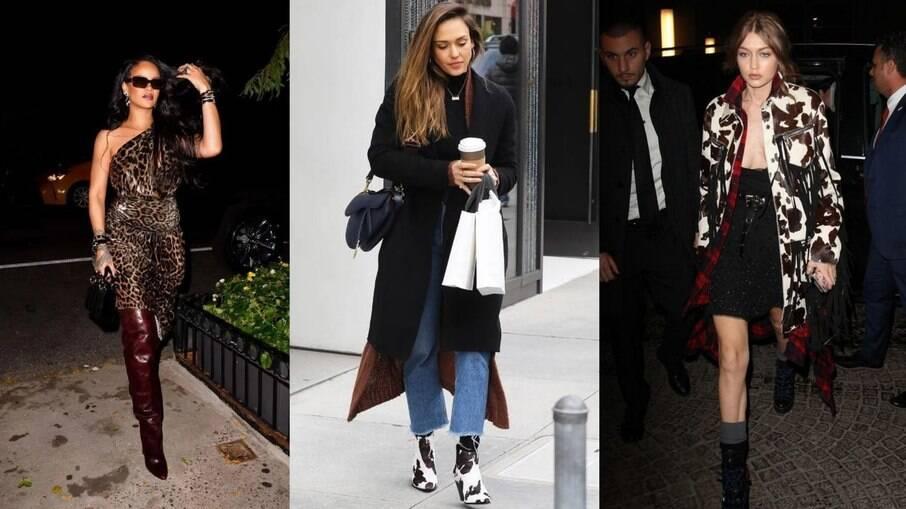Rihanna, Jéssica Alba e Gigi Hadid