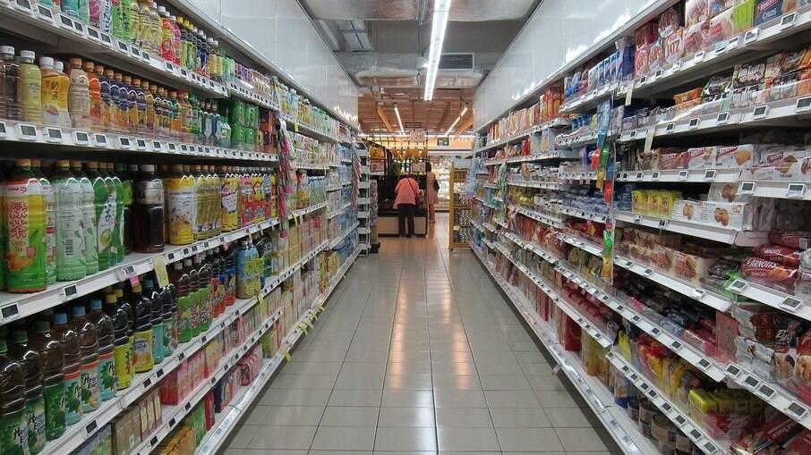 Imagem ilustrativa: supermercado