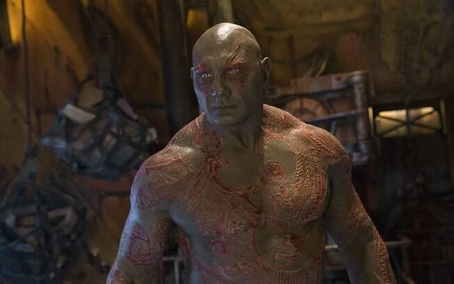 Dave Bautista é Drax em