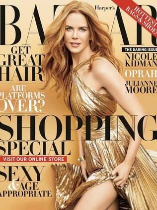 Nicole Kidman na capa da edição de novembro da