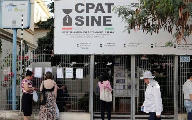 Cpat começa a semana com 177 vagas de emprego em Campinas