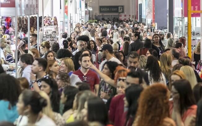 Beauty Fair 2017 estima público de 148 mil pessoas