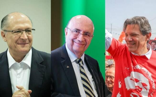 De acordo com a prestação de contas dos candidatos, Alckmin, Meirelles e Haddad foram os que mais arrecadaram