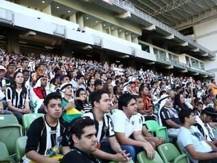 Estádio também recebeu telão para os atleticanos acompanharem o Mundial de Clubes, no ano passado