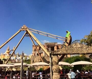 Funcionamento do parque foi suspenso durante todo mês; atividades voltam dia 7