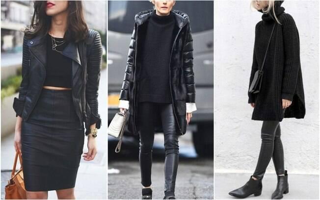 Aqui, a criatividade pode rolar solta, incluindo jaquetas, tops