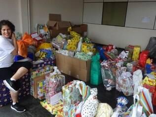 Este ano serão 2.000 mil cartas atendidas, com a presença do Papai e da Mamãe Noel