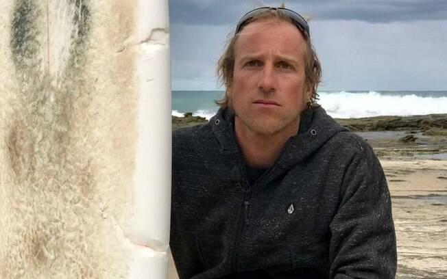Marcel Brundler, surfista suíço