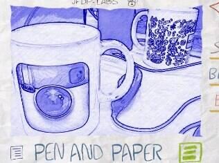 App de fotos Paper Camera traz efeitos que imital papel e caneta. Para iPhone e Android