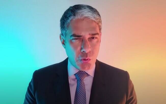 Bonner em campanha da Globo atacada no YouTube