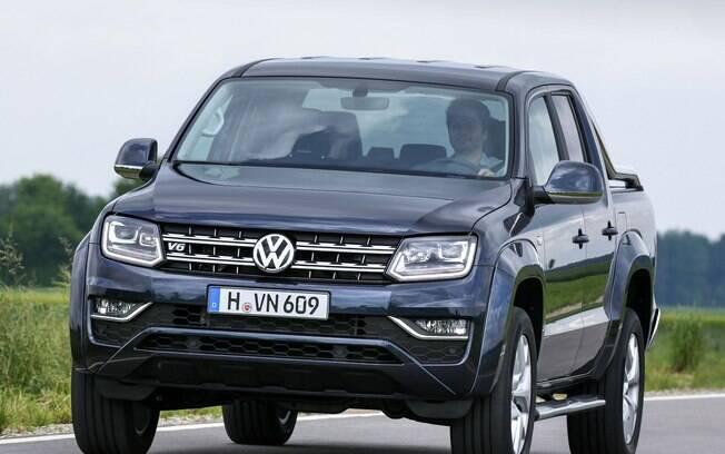 A Volkswagen Amarok é uma das poucas picapes médias que não tem uma versão SUV. Isso deve mudar em breve com o desenvolvimento de um utilitário.