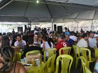 Cidades - Semana Santa - Sabara MG Feira do Mineirinho esta de casa nova . A partir de hoje as quintas e domingos a feira sera no espaco Arena BH no bairro bandeirantes na pampulha   FOTO: MARIELA GUIMARAES / O TEMPO  20.04.2014