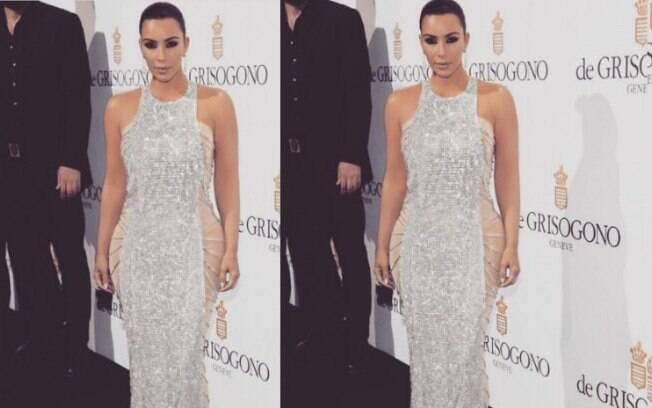 5 meses após dar à luz, Kim Kardashian já está voltando ao seu corpo normal