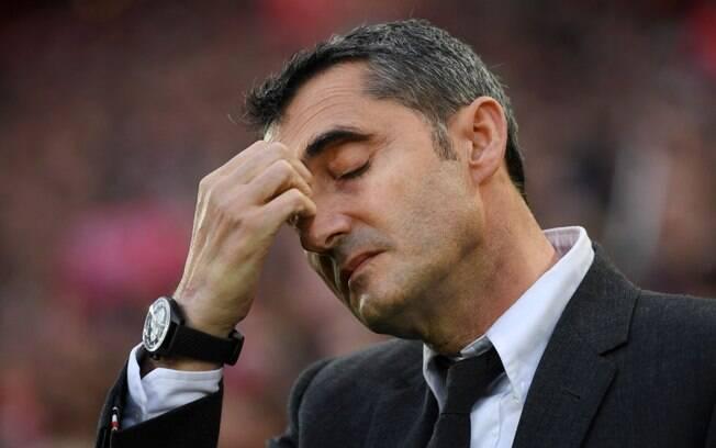 Ernesto Valverde não fica no Barcelona