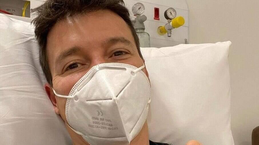 Rodrigo Faro está curado da Covid-19