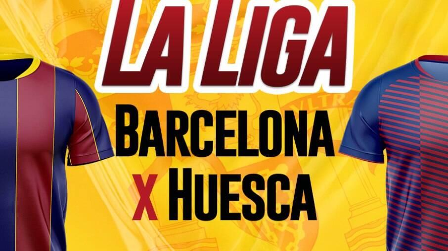 Barcelona e Huesca se enfrentam pelo Espanhol