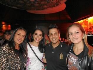Lídice Almeida (CTA), Rosanna, Marcelo (Estrada Real) e Laura Prosdocimi (Expert)