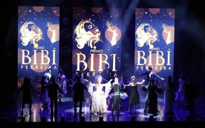 Prêmio Bibi Ferreira valorizou o trabalho dos profissionais do teatro