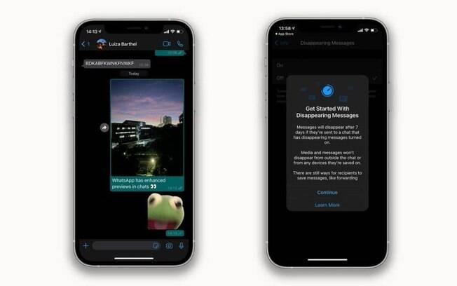 Novidades no WhatsApp para iOS