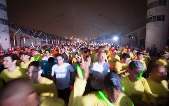 Mais de 12 mil pessoas participaram da prova  em São Paulo