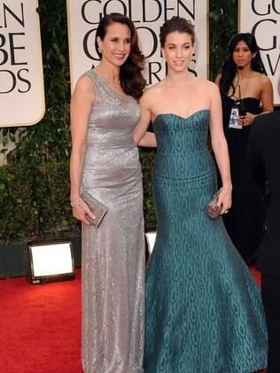 Andie MacDowell desencorajou suas filhas a seguirem a carreira de atriz