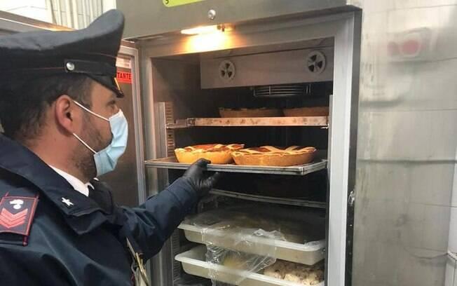 Caso ocorreu em um pasticceria no sul da Itália