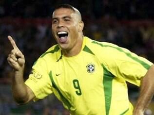 Em 2002, no entanto, Ronaldo foi a sensação da conquista do penta