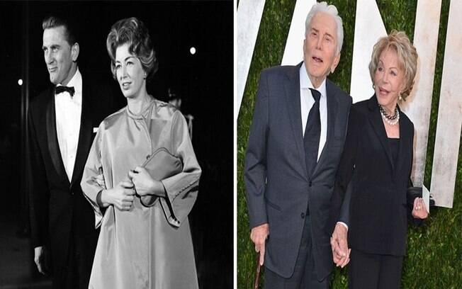 Kirk Douglas e Anne Buydens