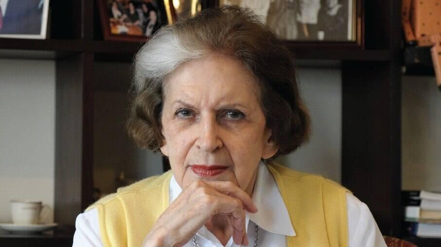 Escritora Lygia Fagundes Telles