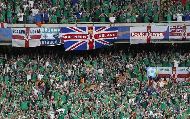 E os da Irlanda do Norte também