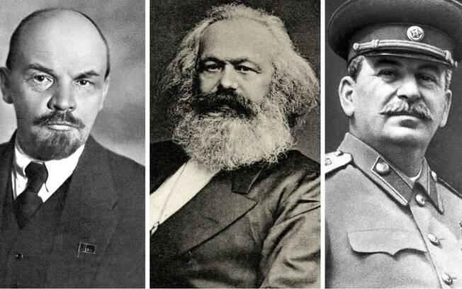 Lenin, Marx e Stalin 30 anos de atraso social e econômico no Brasil