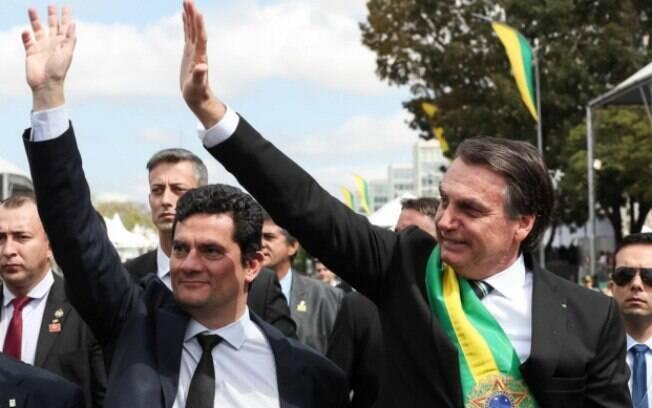 Ausência de narrativas sobre a demissão de Sergio Moro deixou base bolsonarista perdida.
