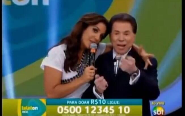 Silvio Santos e Ivete Sangalo