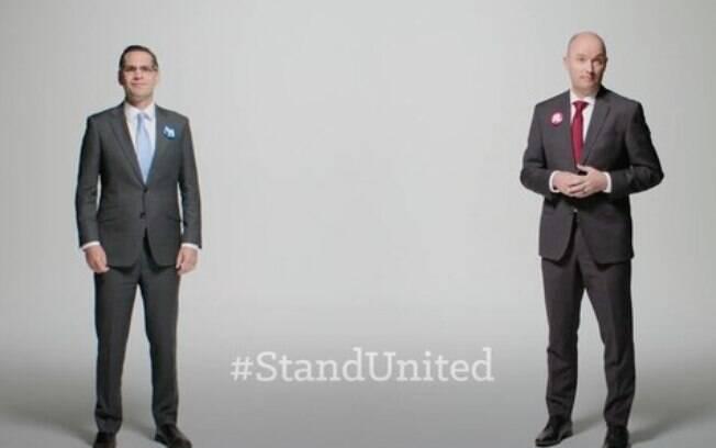 Chris Peterson e Spencer Cox são os candidatos a governador de Utah