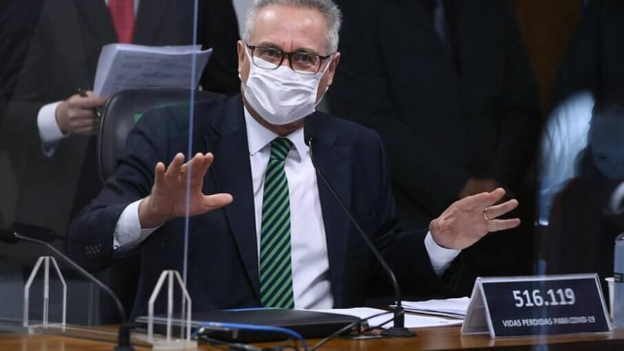 Relator da CPI, senador Renan Calheiros (MDB-AL)