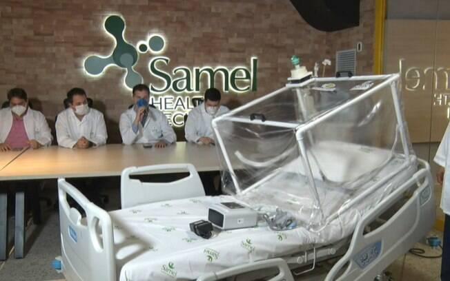 Cápsula barata pode proteger médicos e é alternativa a respirador mecânico