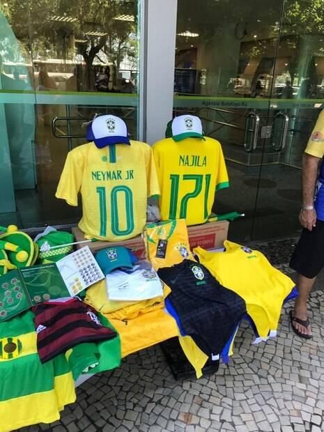 camisas da seleção brasileira najila